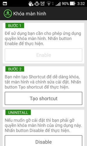 Giới thiệu một vài ứng dụng nhỏ thay thế nút nguồn trên Android. - 82904