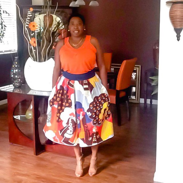 Pretty Girl Full Gathered Midi Skirt!  Details on the blog soon, blog address in profile  #Itsmelaniedarling #clothier #sewologist #seamstress #sewing #sewist #sewcialist #sewingblogger #asewinglife #imakemyownclothes #imadethis #diy #diyer #diystyle #diy