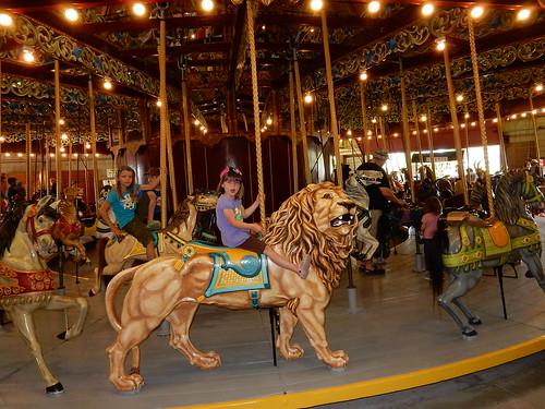 port dalhousie carousel lion (1)