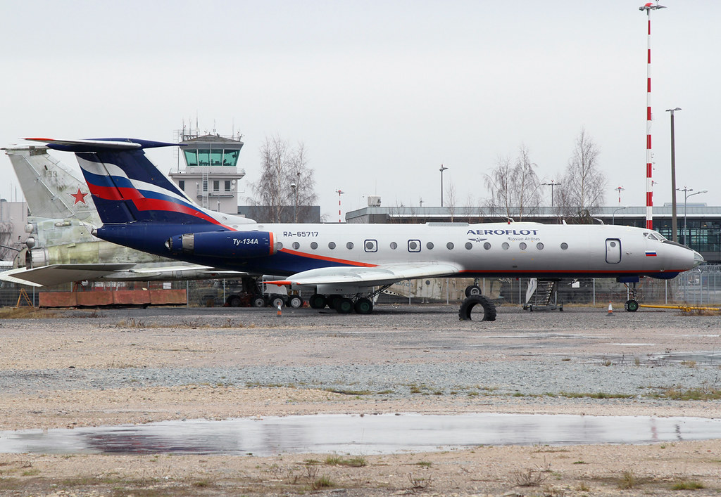 This Tu-134 is stored next to the Aviation Museum on the apron of Riga Airport. Delivered in 1981 and served Aeroflot until 2008. Would have loved to see this bird in the air.