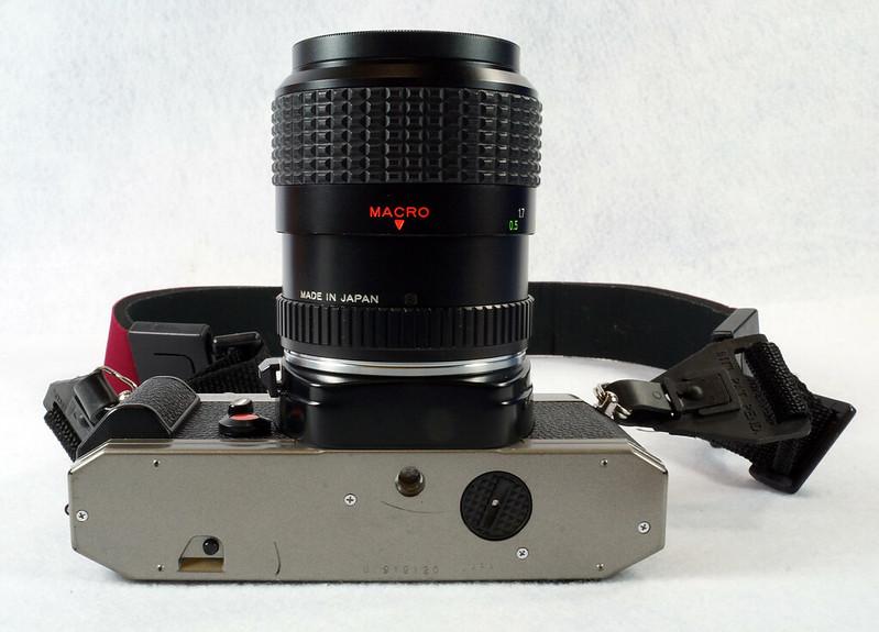 RD14976 Chinon CM-7 35mm SLR Film Camera, 50mm Ozunon Lens, Manuals & Coastar Case DSC07826