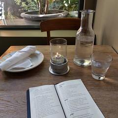 #candle #bottle #placesetting #restaurant #Bellevue #menu