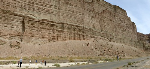 Los Altares cliffs.