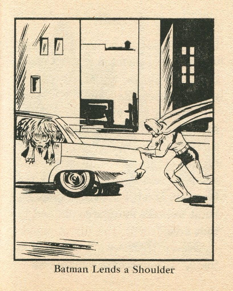 Batman Lends a Shoulder