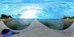 Windy Gorgeous Sunday At Little Harbor Ruskin Florida On Tampa Bay - IMRAN™ (360° Spherical Panorama)