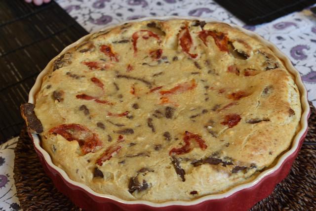 Chickpea Flour Quiche