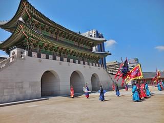 Changing of the Guards at Gyeongbokgung Palace