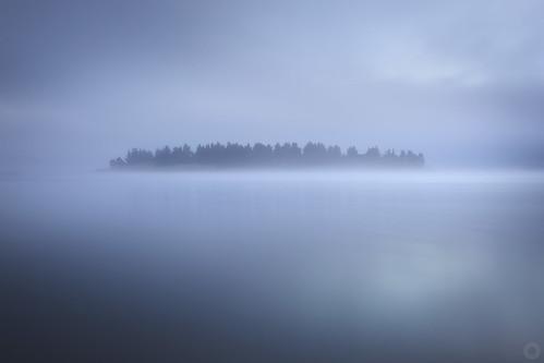 longexposure blue lake fog sunrise island australia nsw newsouthwales jindabyne