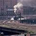 N&W 611 at Chicago CNW station 1983 , by Mark LLanuza