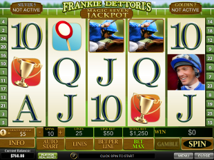 Play Frankie Dettori's Magic Seven Jackpot Slots at Casino.com South Africa