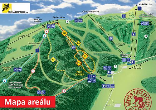 Přijeďte si zajezdit do Bike parku Skiareálu Ještěd kdykoliv do konce sezóny 2015 s 44% slevou