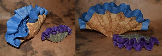 Tridacna Gigas Giant Clam For July 2015 Origami Challenge Topic Curves And Curved Shapes