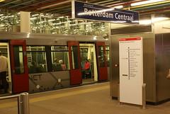 Metrostation Rotterdam Centraal