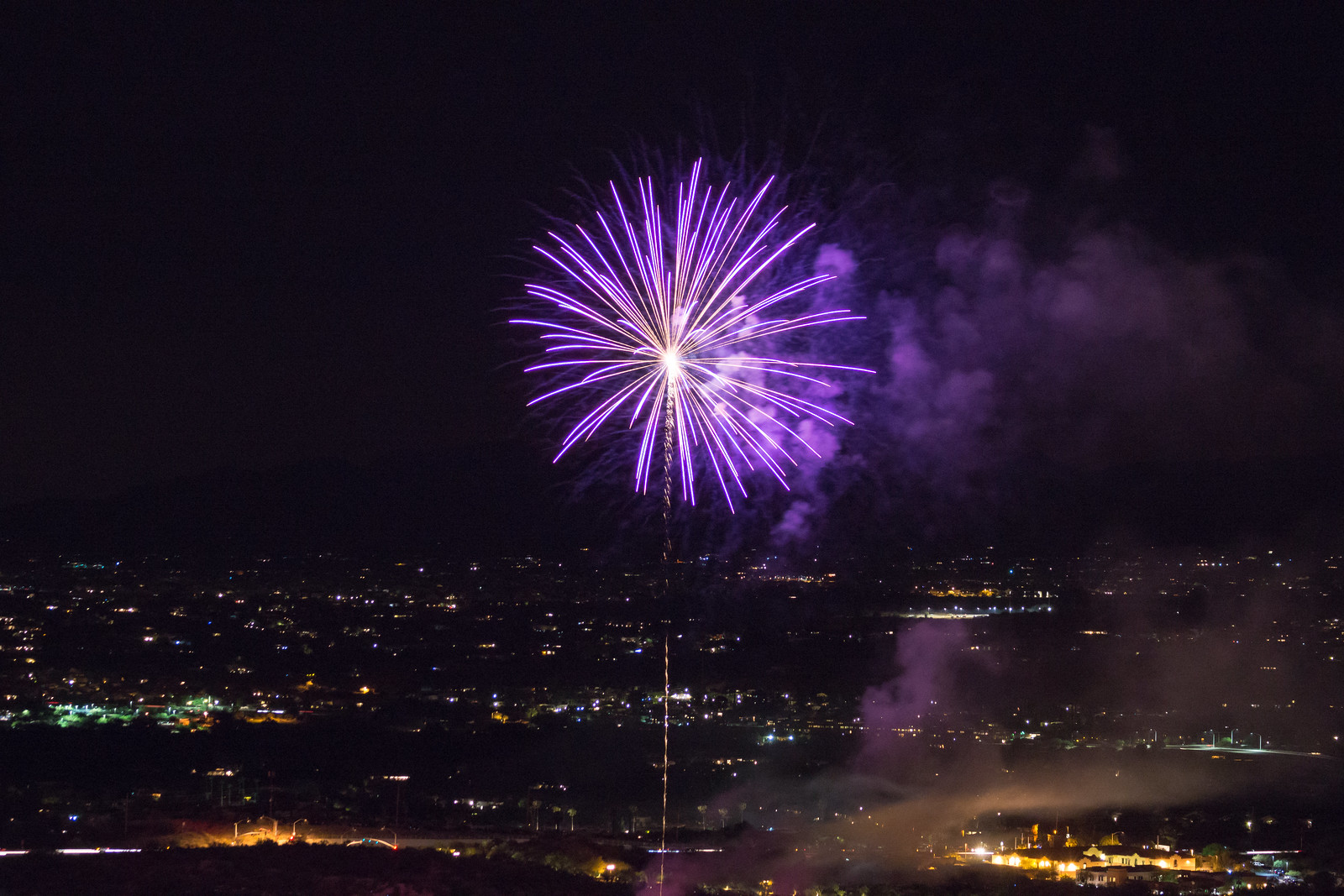 1507 Fireworks Near the Linda Vista Trail 04