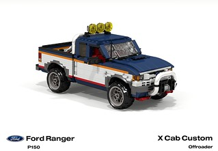Ford Ranger X Cab Pickup (1996 - FNA Custom Offroad)