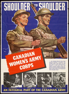 Shoulder to Shoulder—Canadian Women's Army Corps / « Côte à côte, Service féminin de l'Armée canadienne »