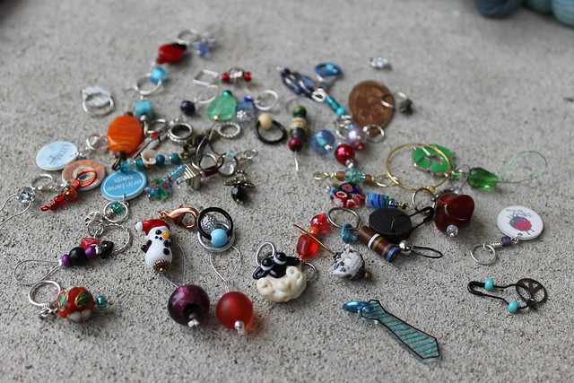 Stitch Marker Swap
