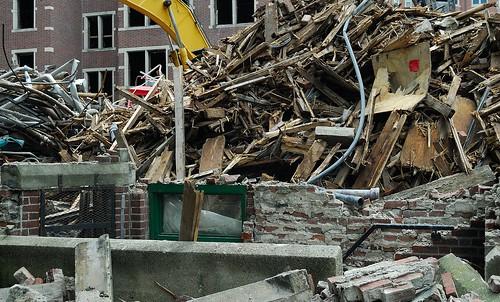 847 Dorm Demolition