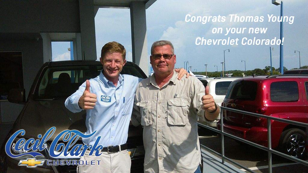 Tom Clark Chevy >> Thomas Young Matt Richey Colorado Cecil Clark Chevrolet Flickr