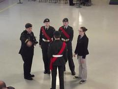 Vimy Ridge Pin Ceremony, 25 Mar 13