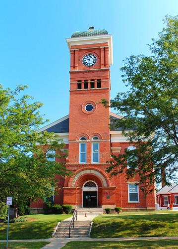 mountgilead morrowcounty ohio village downtown courthouse countycourthouse historic nrhp nationalregisterofhistoricplaces