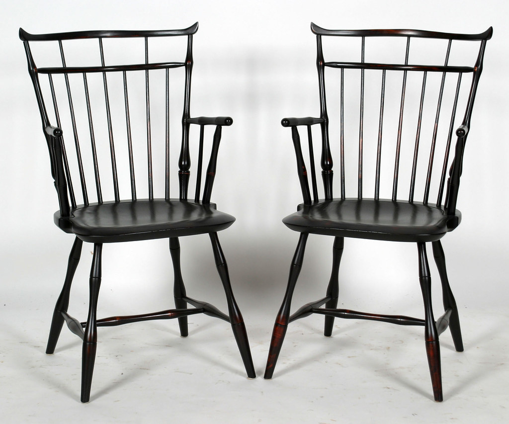 D. R. DIMES (Dayton Interiors) Set Of 10 Windsor Chairs($1,375.00)