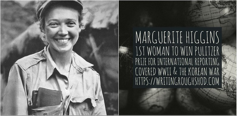 MARGUERITE HIGGINS #100travelHERS