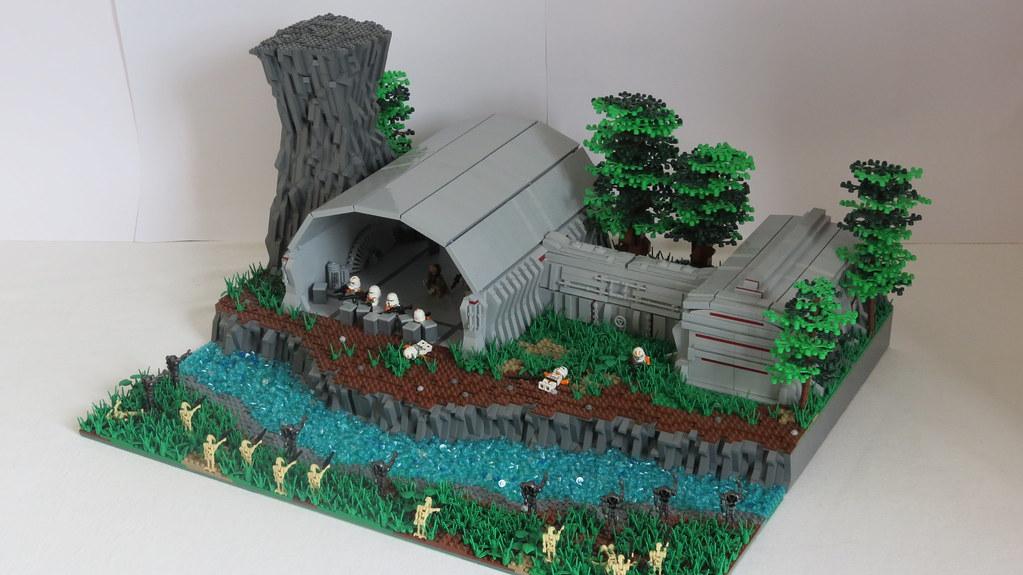 Lego Star Wars Moc On Alderaan Big Brick Studios Flickr