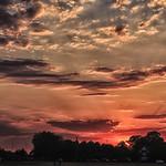 30. Juuni 2015 - 20:01 - Sunset over Blackheath 30 June 2015