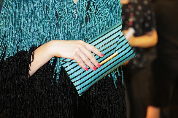 Backstage at Giorgio Armani Privé Couture Fall 2015