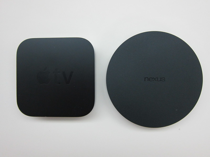 Nexus Player vs Apple TV