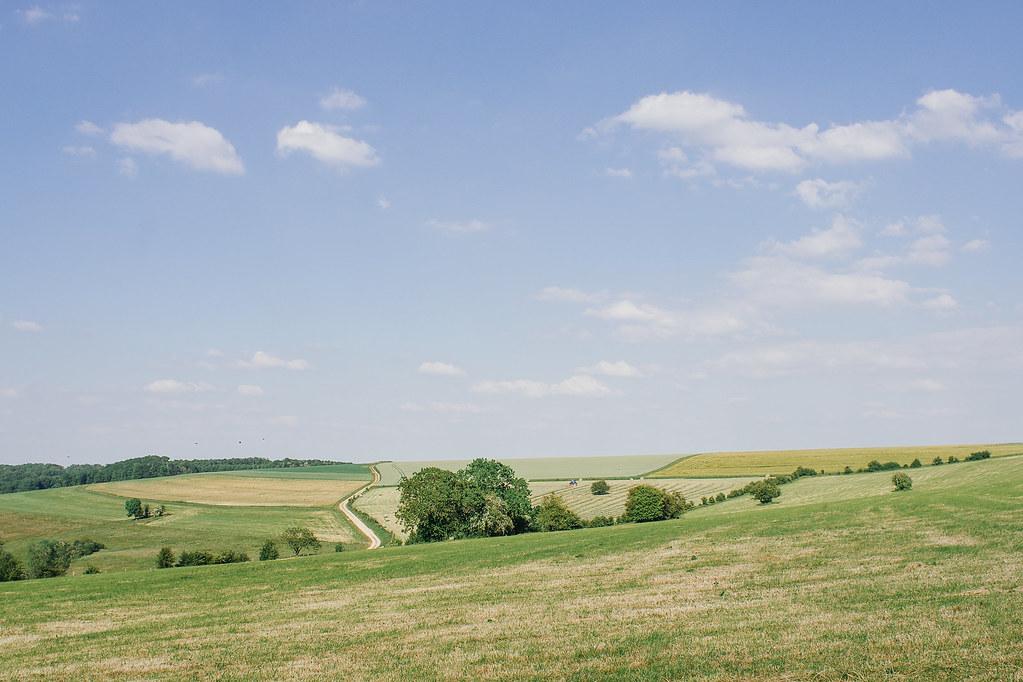 Tourisme vert en Meuse - de la vallée de la Meuse à l'Argonne - Paysage meusien