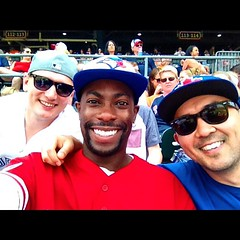 July 4, 2015 - 15:19 - We drink and have a good time at the ballpark. #bluejays #tigers #Toronto #baseball #beisbol #detroit #roadtrip #road #trip #comerica #cometogether #weekend #fun #sports