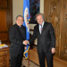 Secretary General Receives Permanent Observer of the Holy See