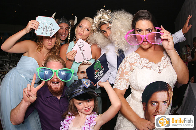 St. Augustine White Room Wedding | Reception Photo Booth