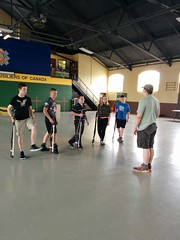 Drill Team Practice 2015