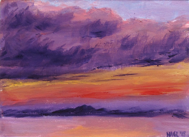Purple Forth in Oils, 25 June 2015
