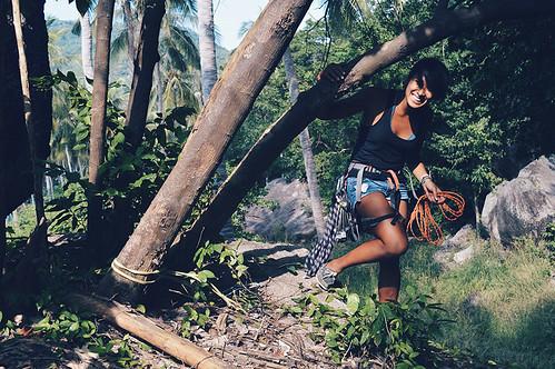 Sole Sister Emma activetravlr-climbing-thailand