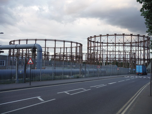Disused Gasworks