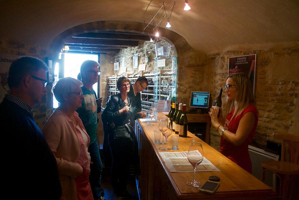 Vinprovning Vinadea i Chateauneuf-du-Pape 2