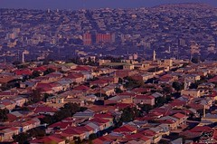 From the south side view to the northern part of Hargeisa city Somaliland.