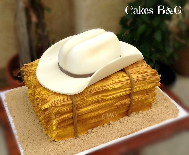 Cowboy Themed Cake by Cakes B & G