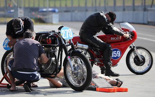 Matchless 350 & Ducati 350