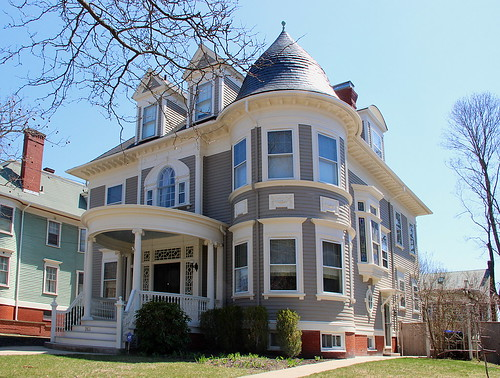 Historic Providence Home by Robert Magina via I {heart} Rhody