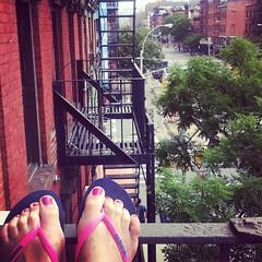 New york balcony #ny #ilovenewyork