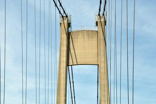 Urlaubslektüre Die Brücke von Ambreville Alain Leblanc Un pont entre deux rives Gérard Depardieu Normandie Foto Brigitte Stolle 2015