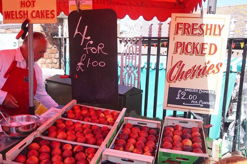 welsh cakes cherries peaches gloucester food festival gloucester quays