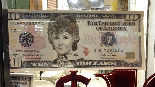 bea arthur on $10 bill