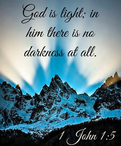 1 John 1:5 NIV