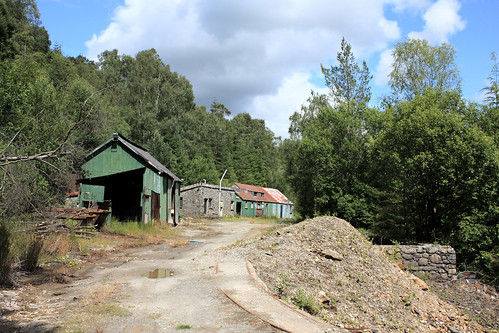 Old mine buildings
